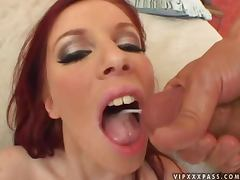 Horny siren Stella Red makes her friends feel good tube porn video