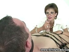 Mature stocking brit sonia femdom blowjob tube porn video