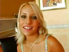 Sexy Blonde Candy Eat Cum After Great Fuck tube porn video