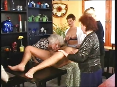 German Granny Orgy tube porn video