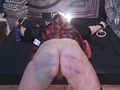 Naughty Schoolgirl Antonia Gets Caned tube porn video
