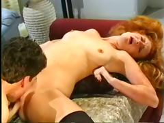 From Her Hairy Redhead Cunt To Her Freckled Asshole tube porn video