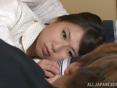 Two weird and sexy Japanese babes are doing some strange things tube porn video