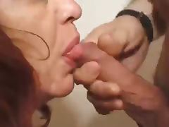 French Granny tube porn video