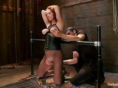 Audrey Hollander Gets Her Pussy Destroyed In BDSM Vid tube porn video