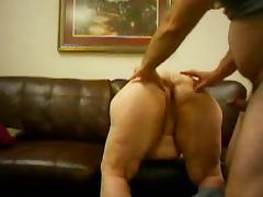 HOT FUCK BBW with a Fat Ass Doggystyle Quickie tube porn video