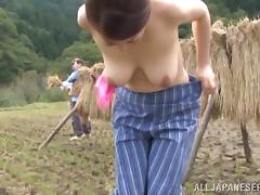 Ayano Murasaki the mature Japanese gets fucked outdoors tube porn video