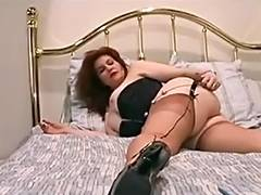 Redhead mother I'd like to fuck fingers her wet wet crack tube porn video