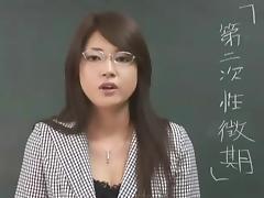 Erika Sato - Woman Teacher Nakadashi Anal Attack tube porn video
