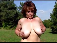 Stepmother outdoor tube porn video