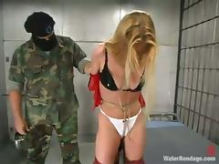 Trina gets tortured and humiliated in a prison and likes it tube porn video