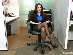 Horny Dudes Gangbang Teasing Busty Slut Ava Addams in the Office tube porn video