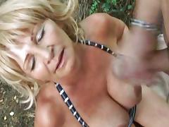 Grannys outdor tube porn video