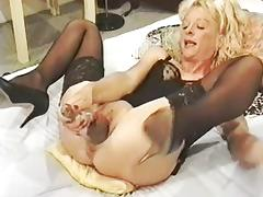 mature woman opening her pussy with big objects tube porn video