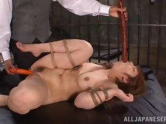 japanese slut gets a thick stick in her face tube porn video