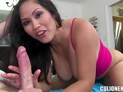 Jessica Bangkok moans loudly while getting her Asian pussy drilled tube porn video
