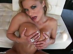 Shyla Stylez sucks a black sausage and gets fucked deep and hard tube porn video