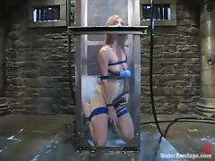 Pinky Lee gets tormented and drowned in a basement and likes it tube porn video