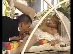 Foursome Honeymoon For Two Brides tube porn video