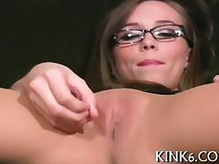 Cameltoe of trimmed pussy tube porn video
