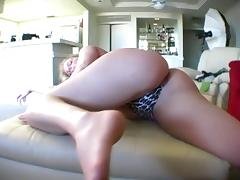 Superb Blonde Nympho Likes To Touch Her Sexy Hot Body tube porn video