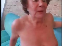 Slut Granny Martha Fucked In Both Holes tube porn video
