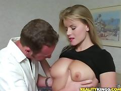 Stunning Lea fucks a dude in a bedroom and drinks his cum tube porn video