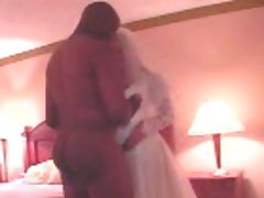 Bride and Black Stud, Phone Cuckolding Groom tube porn video