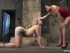 Adrianna Nicole rides a detect coupled with gets shamefaced tube porn video