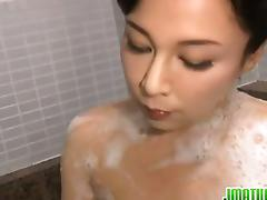 Japanese milf Mai Itou pleases deleterious voyeur tube porn video