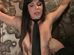 Bobbi Starr likes having current toys nearly her aggravation with the addition of vag nearly BDSM scene tube porn video