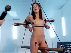 Amazing Hanna Reilly gets secured up together with turned on tube porn video