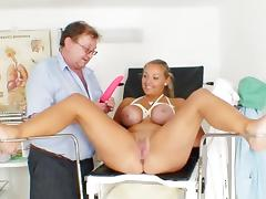 Krystal is object fucked by her doc tube porn video