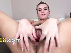 Crack-brained hairy cunt plus glum gyno dildos tube porn video