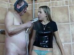 Patricia suck a big old dick of Tim tube porn video