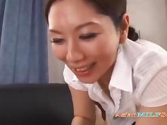 Jap Milf Giving a Blowjob and Getting Her Hairy Pussy Licked tube porn video