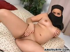 Arab girlfriend sucks and fucks with facial tube porn video