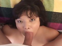 Asian plumper hardcore pov fuck tube porn video