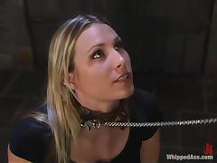 Harmony gets her cunt toyed to orgasm by Sandra Romain tube porn video