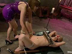 Carolyn Reese gets humiliated and fucked by Maitresse Madeline tube porn video