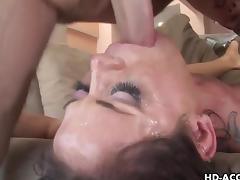 MILF pornstar Savannah Stern is skullfucked tube porn video