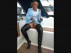 Granny Jasmine Sells a Boat tube porn video