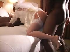 two Dark fellas 1 wedding night..Well that was quick tube porn video