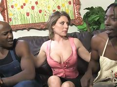 MILF Velicity Von Gets Threesome Sex With Two Black Guys tube porn video