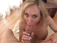 MILF Brandi Love shows off her blowjob skills tube porn video