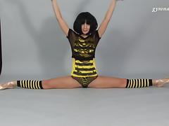 Rina Sunkor - Gymnastic Video part 1 tube porn video
