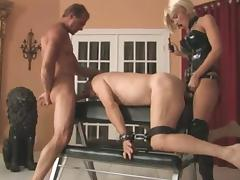 Cute Domina with Strapon and cock lover tube porn video
