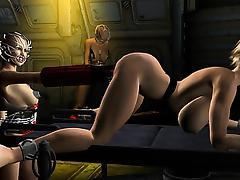 3D Animation. Planet of Vixxen tube porn video