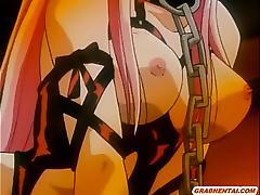 Chains hentai girl sucking dick tube porn video
