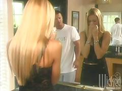 Jessica Drake is Back Blowing this Muscle Stud in the Kitchen! tube porn video